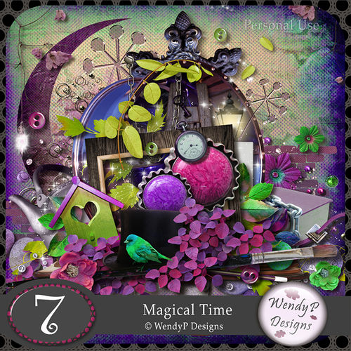Скрап-набор Magical Time