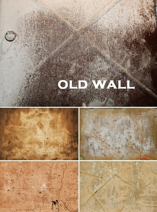 HQ текстуры старых стен