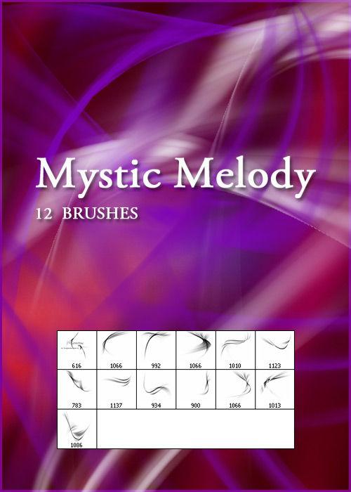 Кисти для фотошопа Mystic Melody