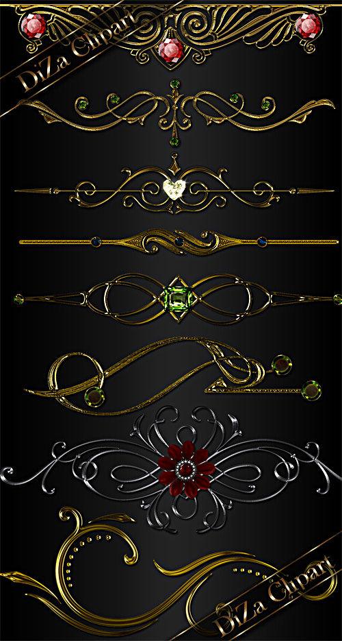 Декоративный орнамент для дизайна