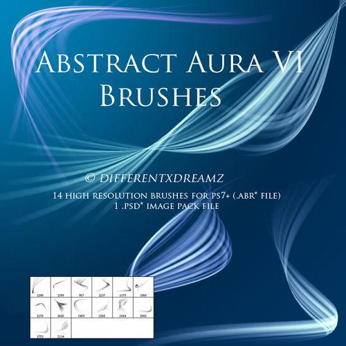 Кисти для фотошопа Abstract Aura