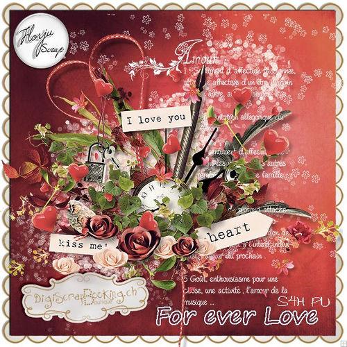 Скрап-набор Forever Love
