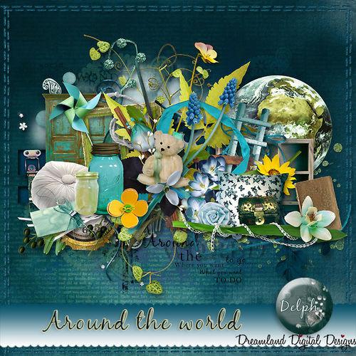 Скрап-набор Around The World