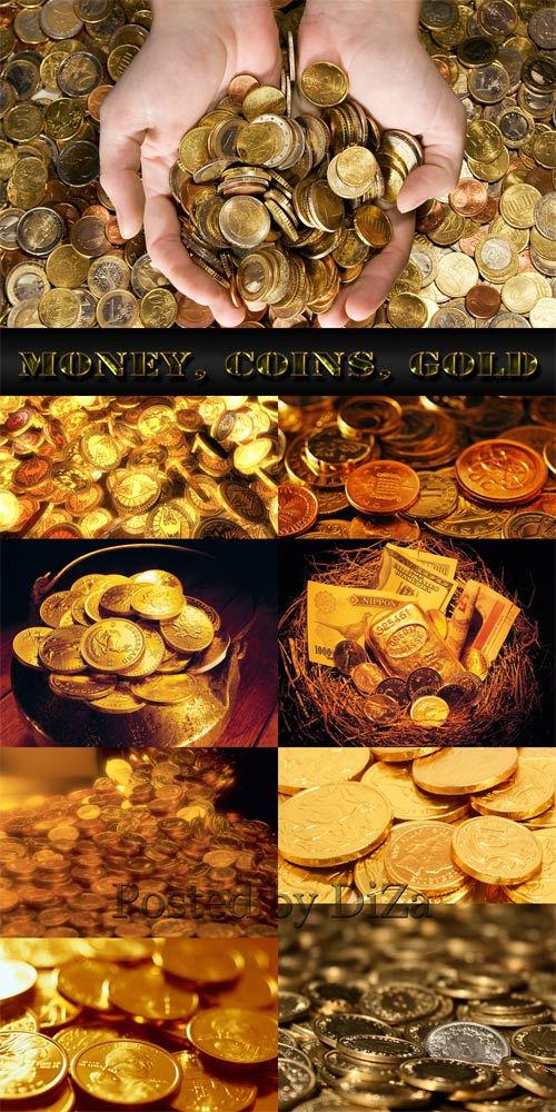 Деньги, монеты, золото