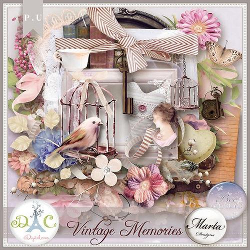 Скрап-набор Vintage Memories