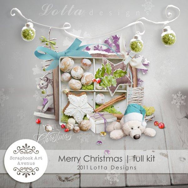 Скрап-набор Merry Christmas