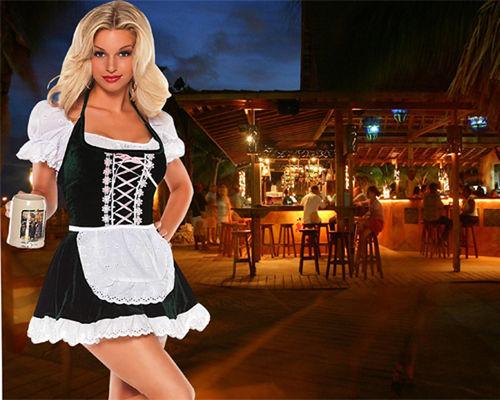 Шаблон  женский '' Веселье в баре''
