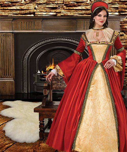 Шаблон  женский ''Королева Анна''