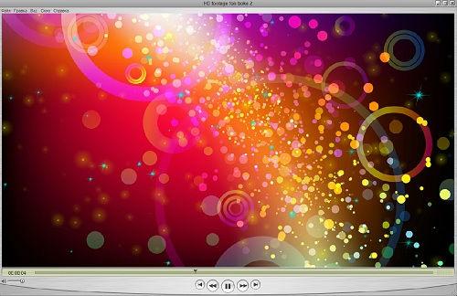 Фоновый HD футаж - Боке