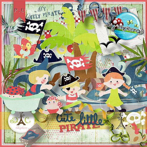 Скрап-набор Cute little pirate
