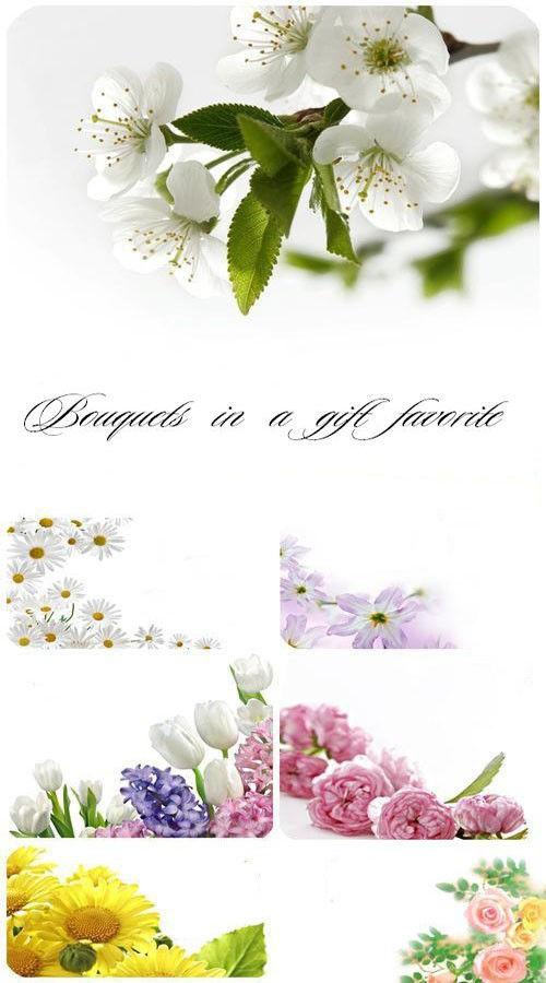 Букеты в подарок любимым (коллекция фонов)