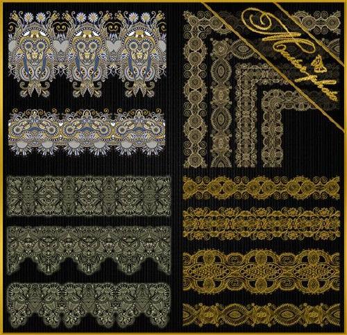 Декоративные бордюры и уголки для дизайнера