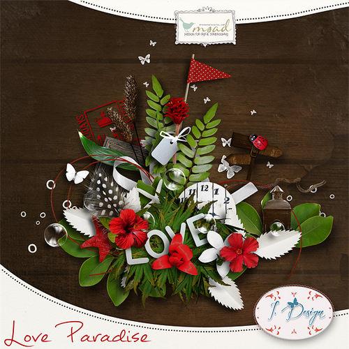 Мини скрап-набор Love Paradise