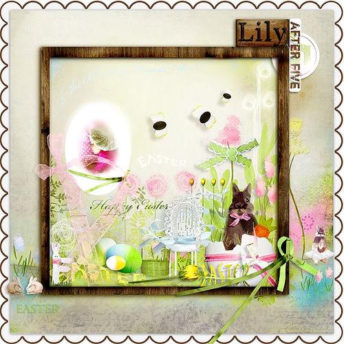 Скрап-набор Easter Bunny
