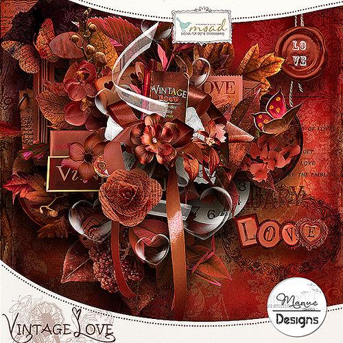 Скрап-набор Vintage Love
