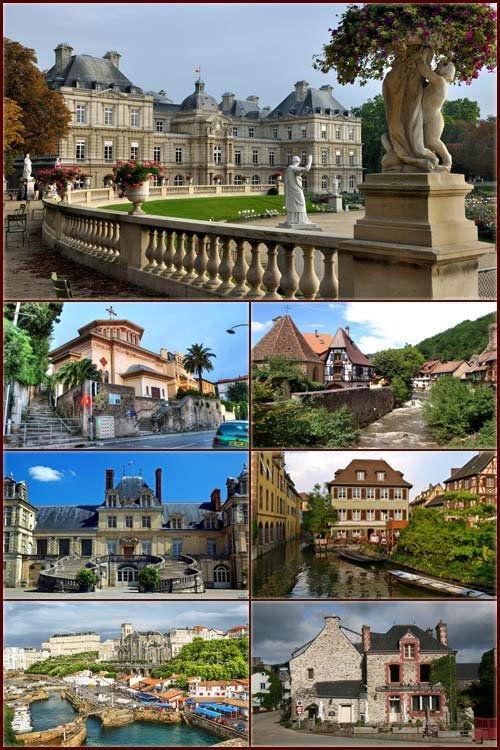 Франция - Достопримечательности и архитектура