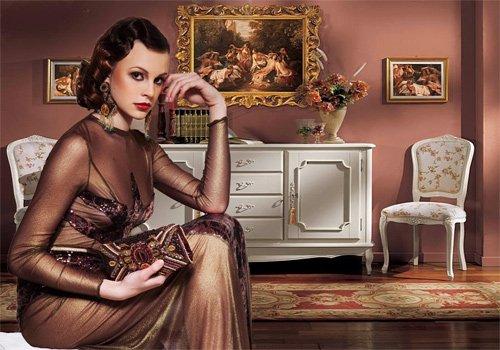 Шаблон  женский '' Колдовская красота''