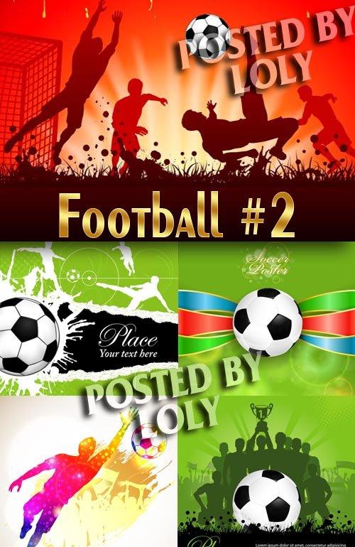 Спорт. Футбол #1 - Векторный клипарт