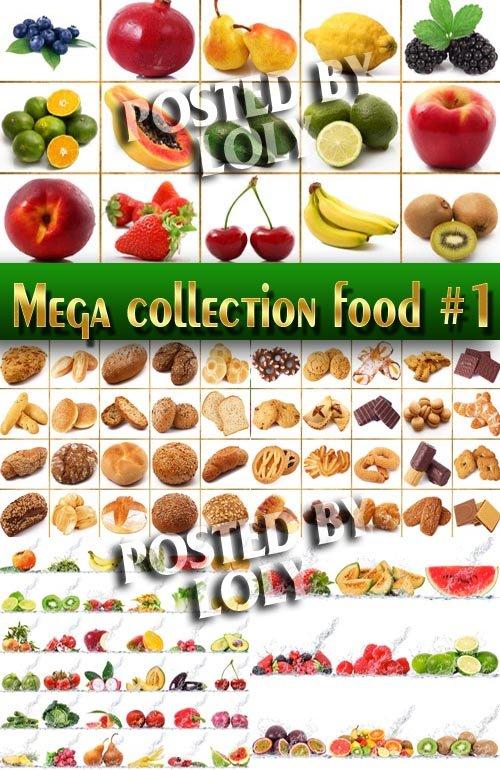 Еда. Мега коллекция #1 - Растровый клипарт