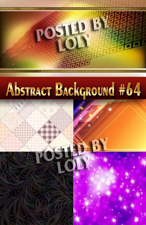 Абстрактные Векторные Фоны #64 - Векторный клипарт