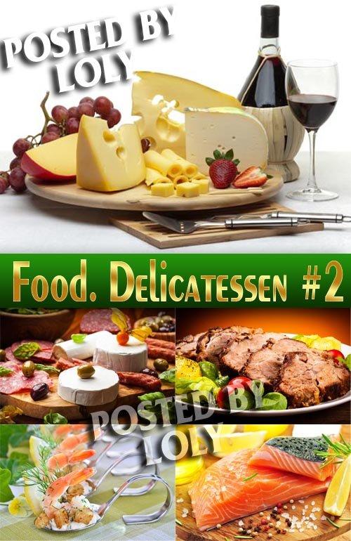 Еда. Деликатессы #2 - Растровый клипарт
