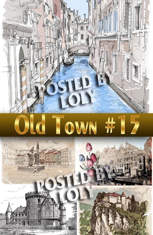 Старый Город #15 - Векторный клипарт