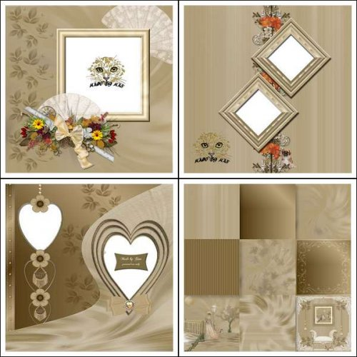 Scrapbook Kit  Vintage Themes