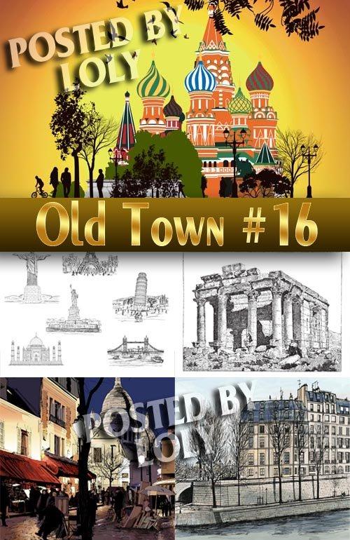 Старый Город #16 - Векторный клипарт