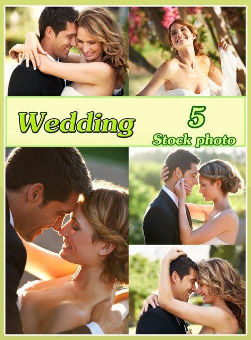 Свадьба, жених и невеста, свадебный коллаж - Растровый клипарт