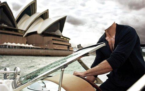 Шаблон мужской - Отдых в Сидней