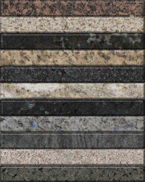 Коллекция гранитных текстур