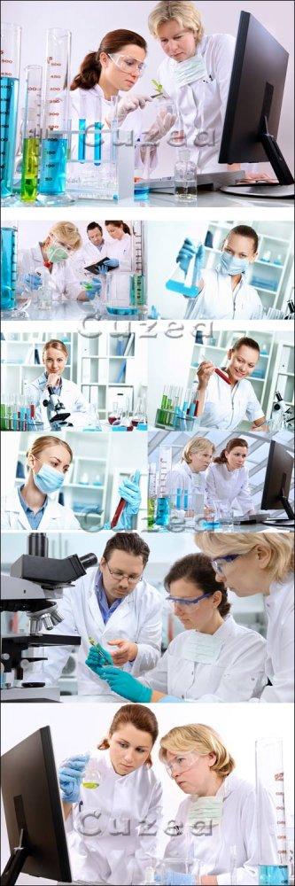 Экспериментальные работы в лаборатории/ Experimental working in laboratory  ...