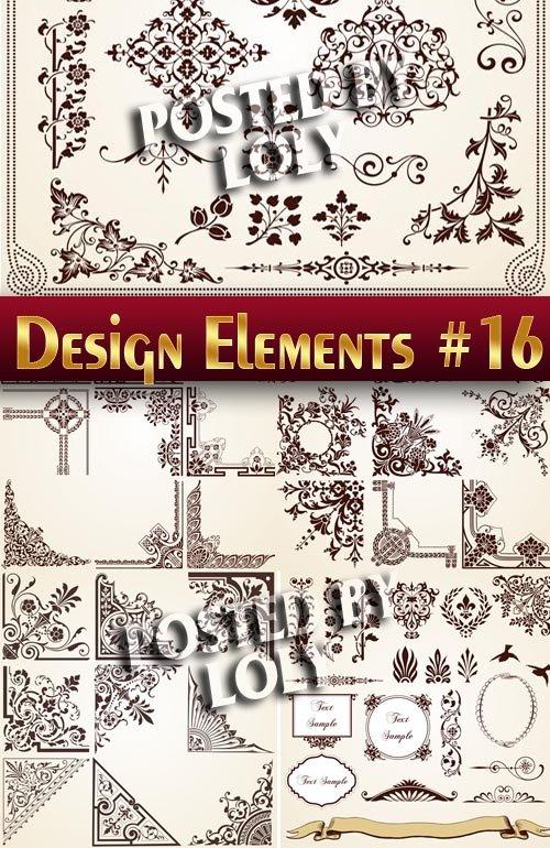 Элементы Дизайна #16 - Векторный клипарт