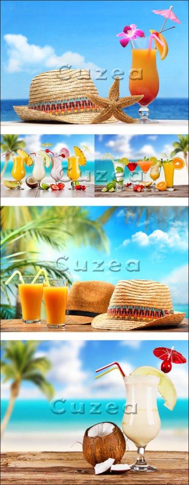 Лето на морском побережье, часть 1/ Summer on the beach, part 1 - Stock pho ...
