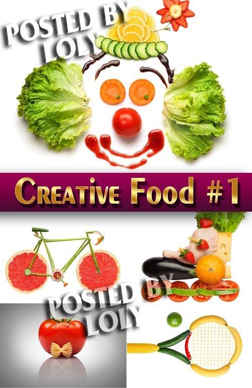 Еда. Креатив #1 - Растровый клипарт