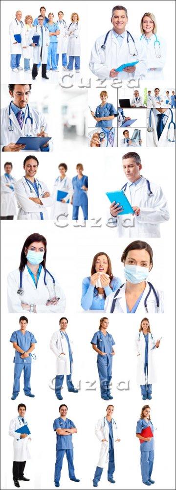 Медицинские работники/ Medical workers - Stock photo