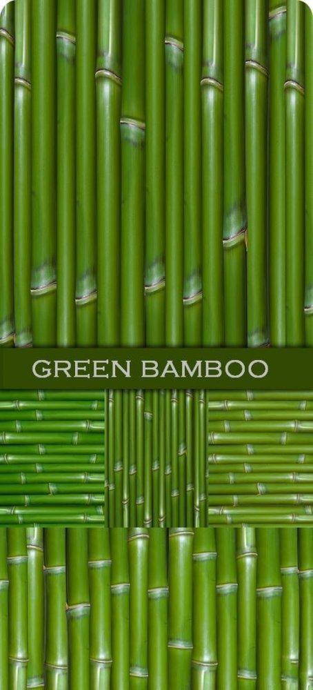 Зеленые бамбуковые фоны