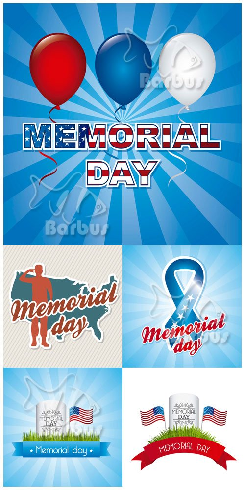 Memorial day in USA / День памяти в США