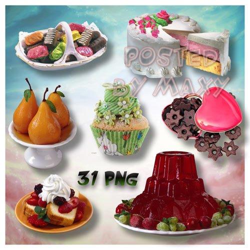 Картинки со сладостями - Шоколад, десерты, конфеты, торты