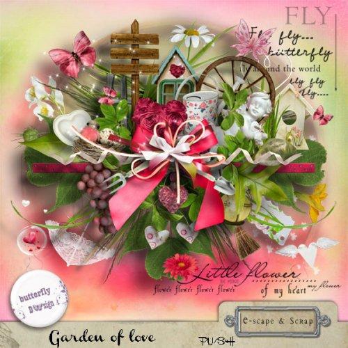 Скрап-набор Garden of Love