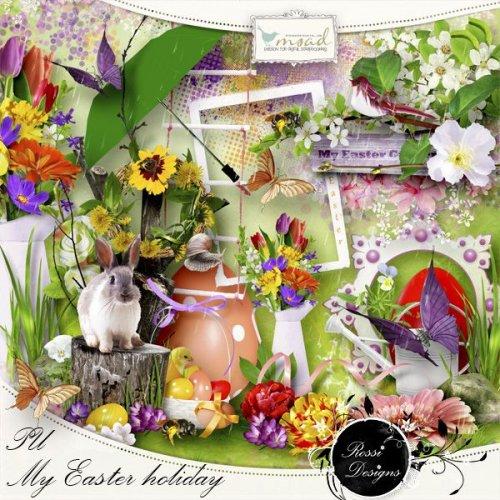 Скрап-набор My Easter Holiday