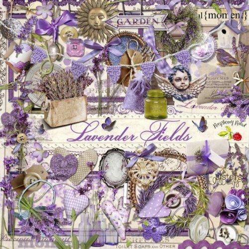 Скрап-набор Lavender Fields