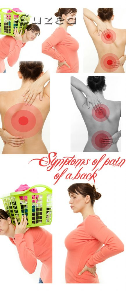 Болевые симптомы, часть 2/ Symptoms of pain, part 2 -  Stock Photo