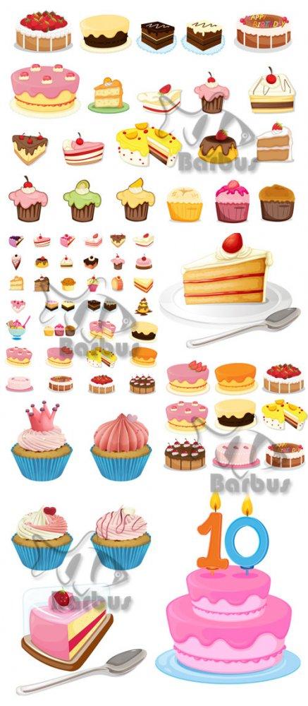 Тортики нарисованные для фотошопа картинки