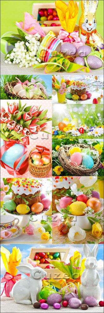 Пасхальная мега коллекция/ Easter mega collection - Stock photo