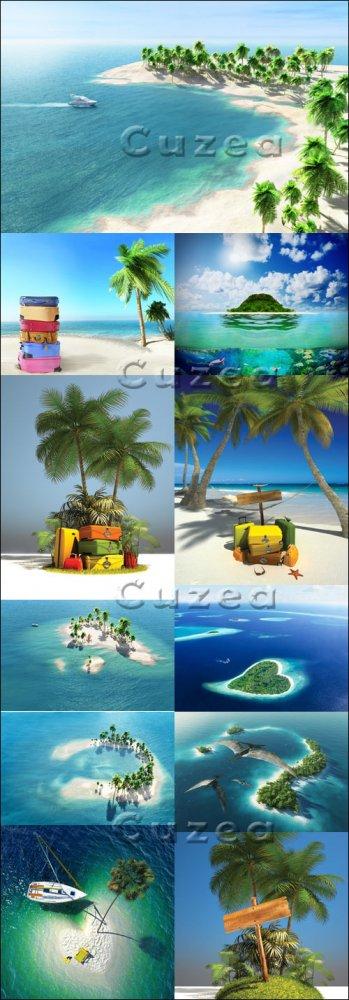 Путешествие на тропический остров/ Summer travel to the tropical island - S ...