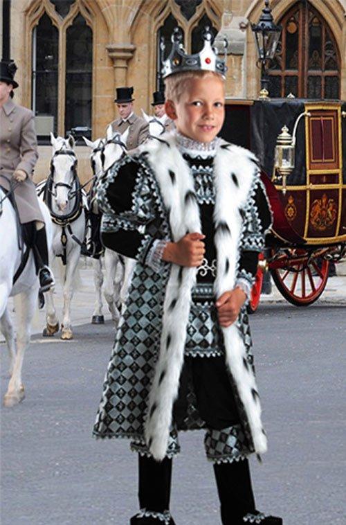 Шаблон  детский  ''Королевская прогулка ''
