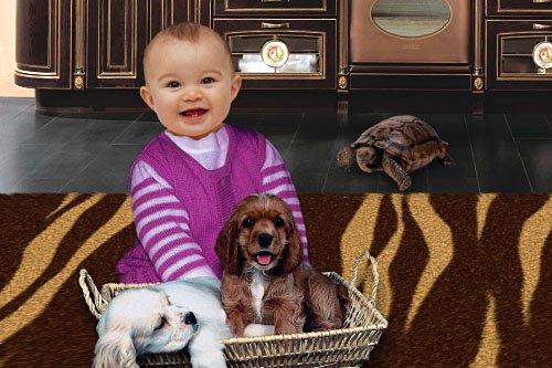 Детский шаблон для фотошопа - Друзья