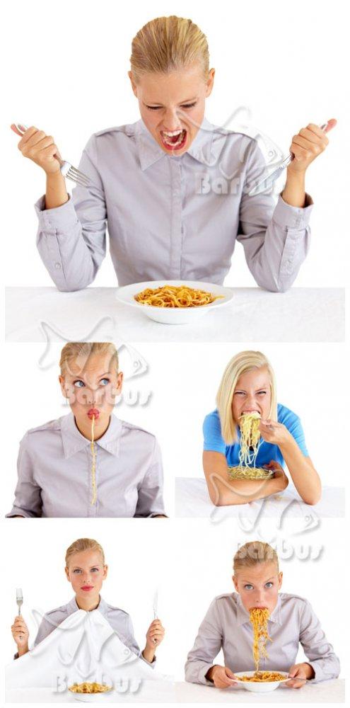 Hungry girl / Девушка проголодалась