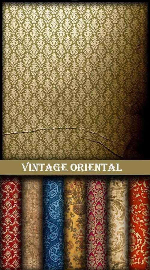 Набор винтажных восточных текстур